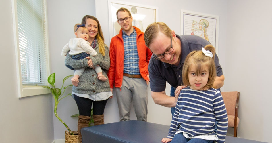 Dr. Herb of Lincoln Chiropractic provides chiropractor services for families across Northern RI